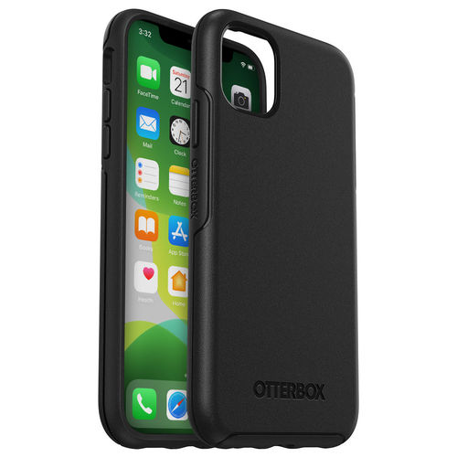OtterBox Symmetry Shockproof Case for Apple iPhone 11 - Black